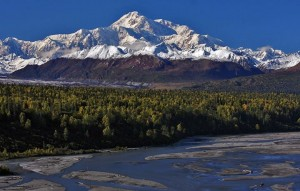 Denali from Trapper Creek by Pete Konefke
