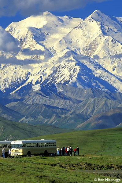 Mt. McKinley from Stony Dome Denali National Park
