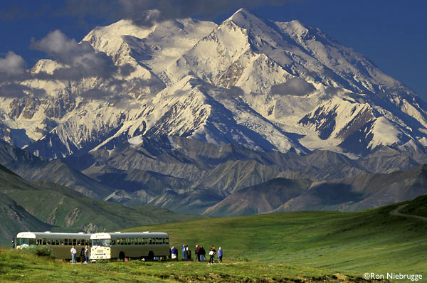 Denali National Park Stoney Dome. Photo By Ron Niebrugge