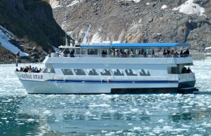 Viewing The Holgate Glacier - Kenai Fjords Tours. (Photo Author Unknown)