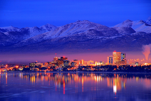 Anchorage Alaska. Photo Author Unknown