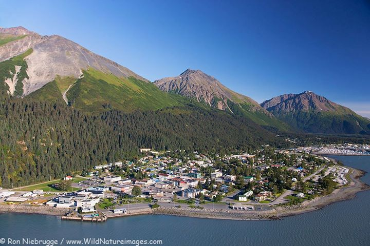 Mt Marathon In Seward. Photo by Ron Niebrugge