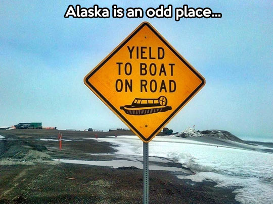 Watch For Boats On The Road