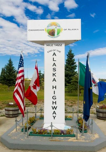 Hop On The Alaska Highway And You Will See This!