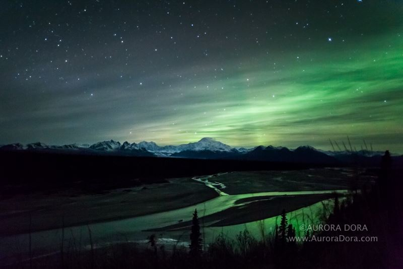 Awesome Aurora Shot. Photo By Aurora Dora.