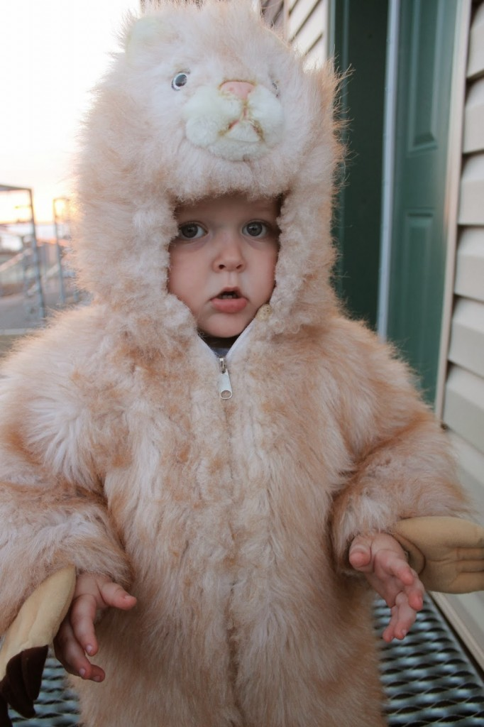 Our Kids Wear Thick Costumes - Photo Credit Cunningham Family