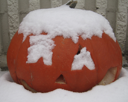 Some Years We Have Snow For Halloween!