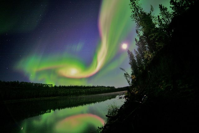Beautiful Aurora. Photo By David Cartier Sr. 1,594 Likes