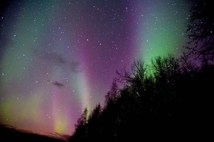 Pink Northern Lights. Photo By Malcolm Manners. 1,228 Likes