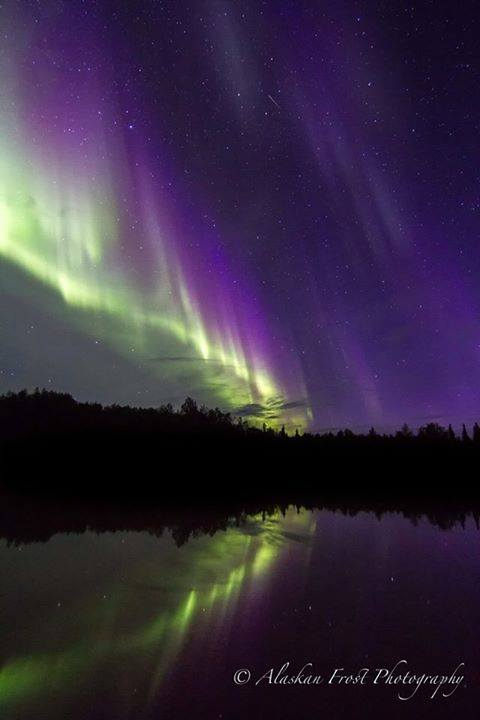 Over Fairbanks. Photo By Alaskan Frost Photography. 970 Likes