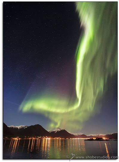 Aurora Over Sitka, Alaska. Photo By Shobe Studios. 1,212 Likes