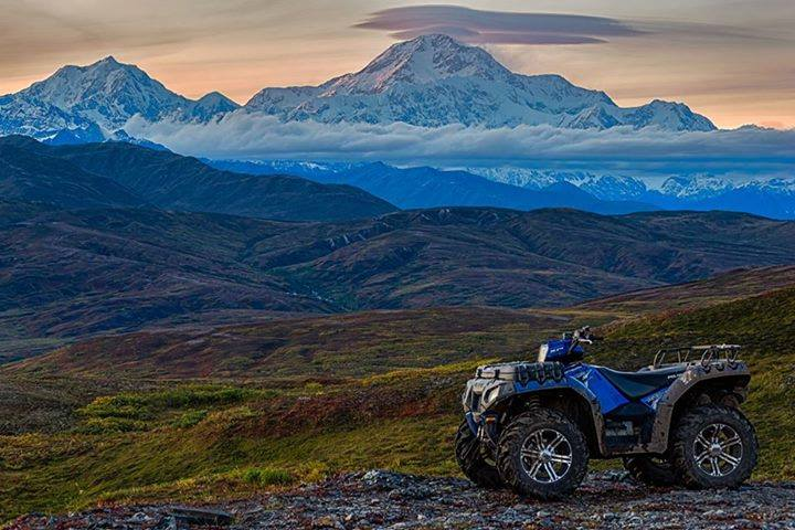 Adventures On An ATV - Denali From Petersville, AK. Photo By Jeff Ehlers. 975 Likes