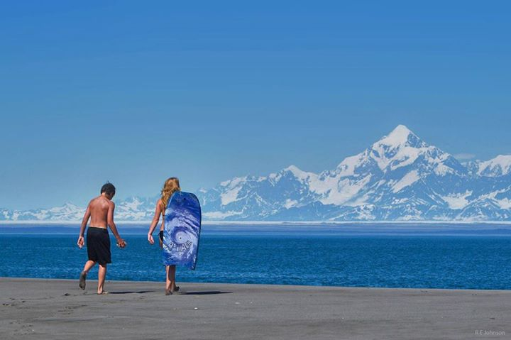 Hanging Out At The Beach in Yakutat, AK. Photo By Robert Johnson. 684 Likes