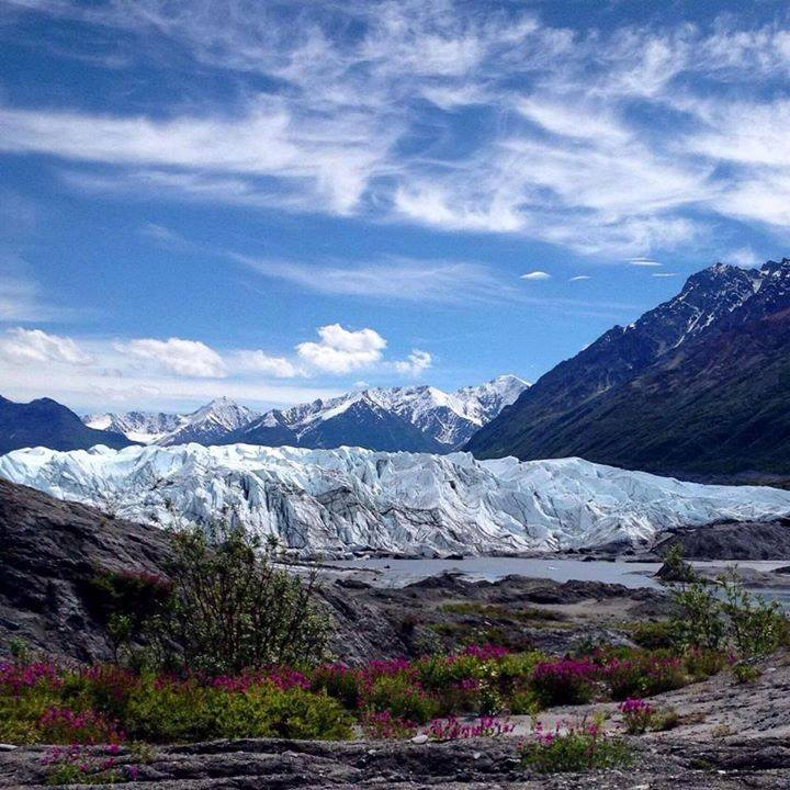 Hiking To And Viewing The Many Glaciers Throughout The State. Matanuska Glacier By Brady Davis. 1,672 Likes